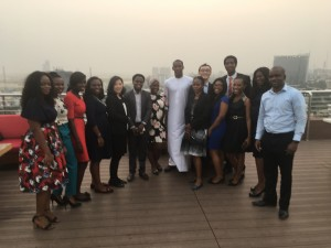 Kusamotu Team at a Dinner session2